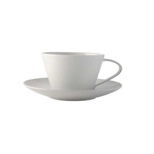 Modern line Latte cup and saucer